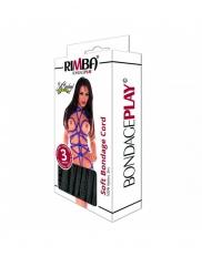 Coarda BDSM Rimba - Soft bondage cord 100% nylon, 10 m
