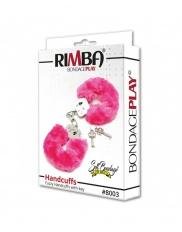 Catuse cu blanita colorata. Rimba - Police Handcuffs with Pink F