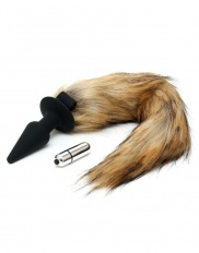 DOP ANAL Rimba - Silicone Butt Plug with Fox Tail