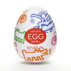 Tenga - Keith Haring Egg Street (1 Piece)