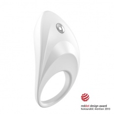 Ovo - B7 Vibrating Ring White