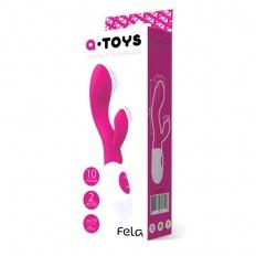 Vibrator Rabbit Punctul G Fela A-Toys Roz 20cm