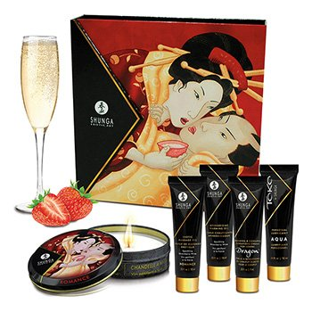 SHUNGA - GEISHA SPARKLING STRAWBERRY WINE